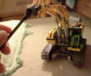 How to Make Your Lego Motorized Crane Be Able to Use Different Attachments