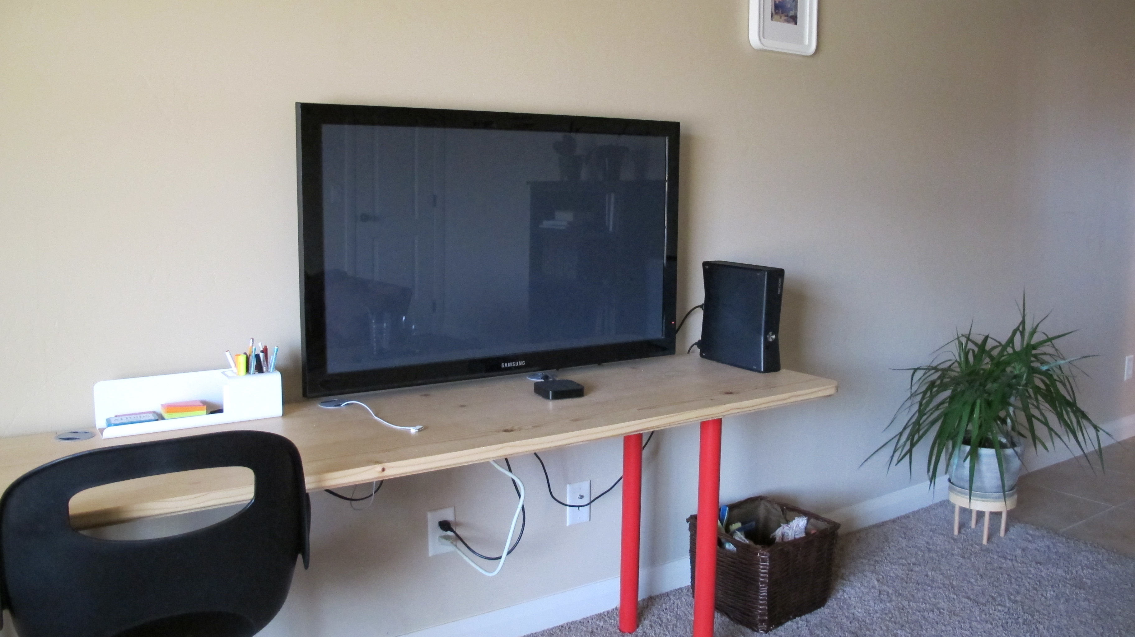 French Cleat Monitor/TV Mount