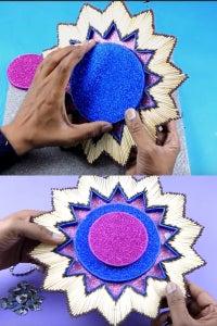 Let's Paste Circular Cardboard!