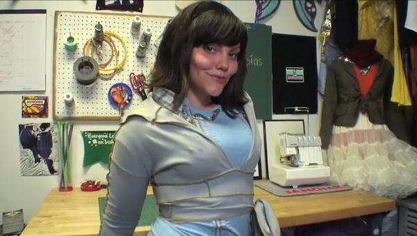 How to Make a Shrug Wrap Out of an Old Turtleneck