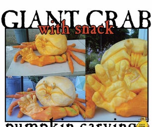 Giant Crab, With Snack