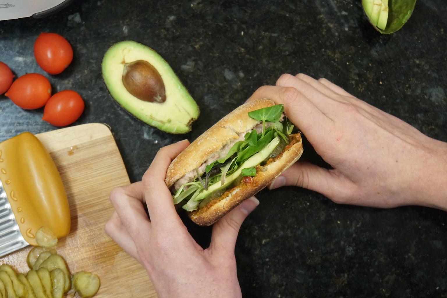 Assemble the Sandwiches