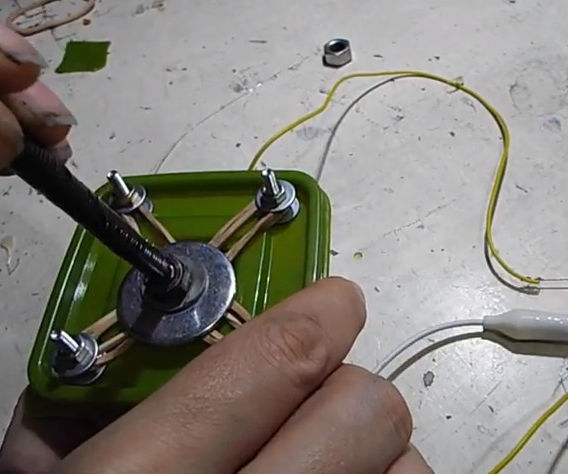 Arcade Stick With Rubber Bands