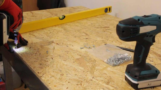 Plywood Work Surface & OSB Substrate