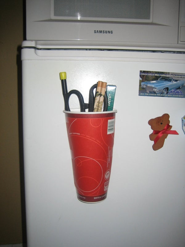 Magnetic Paper Cup Holder