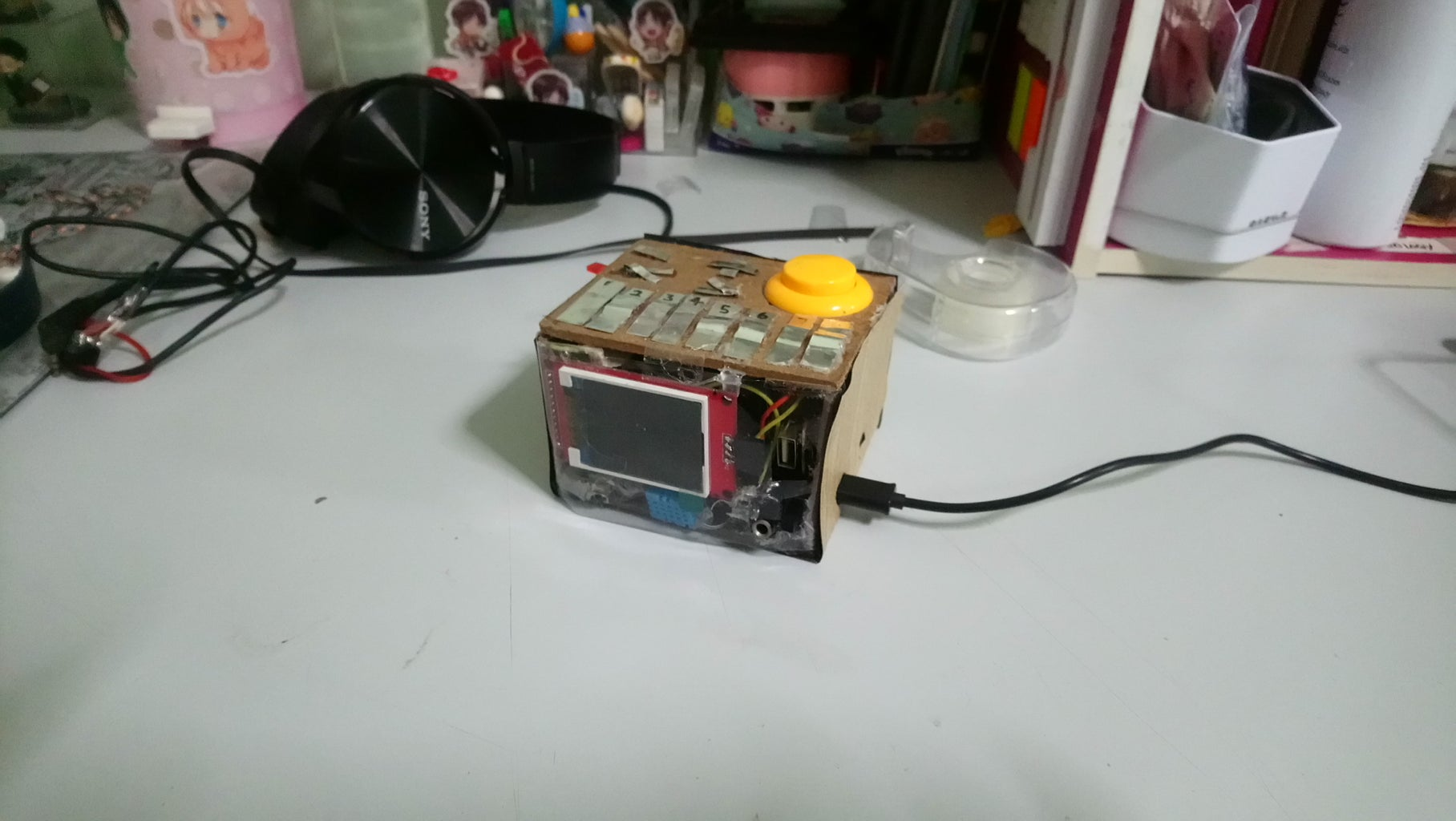 Clock and Sensor Box
