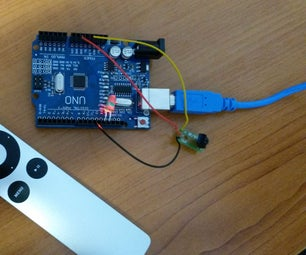 Self-learning IR Remote Controlled Switch