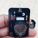 LED Flash Light Badge