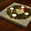 It's Christmas soon! Time to make a stylish & unique ADVENT WREATH!