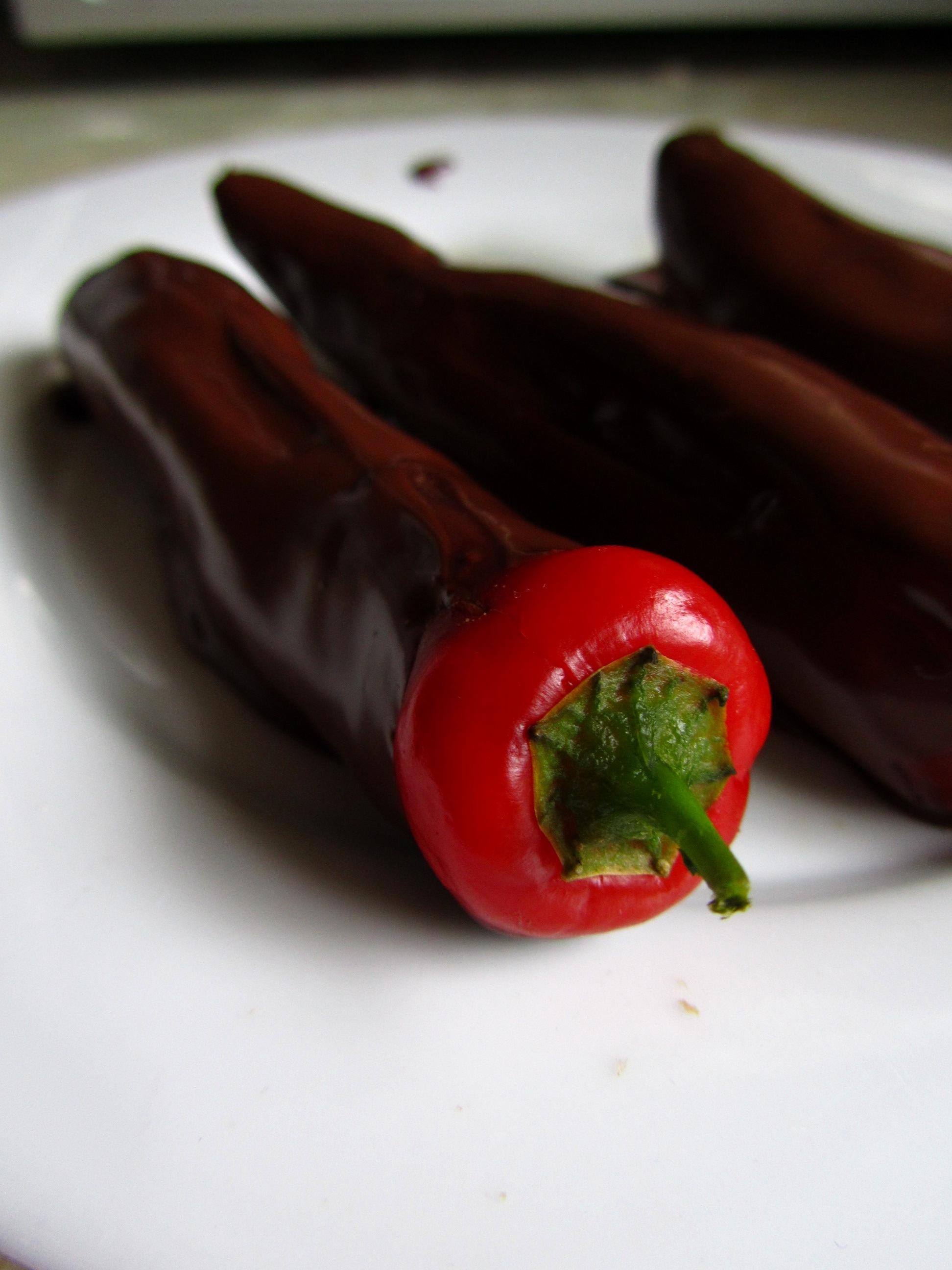 Boozy chocolate chillies