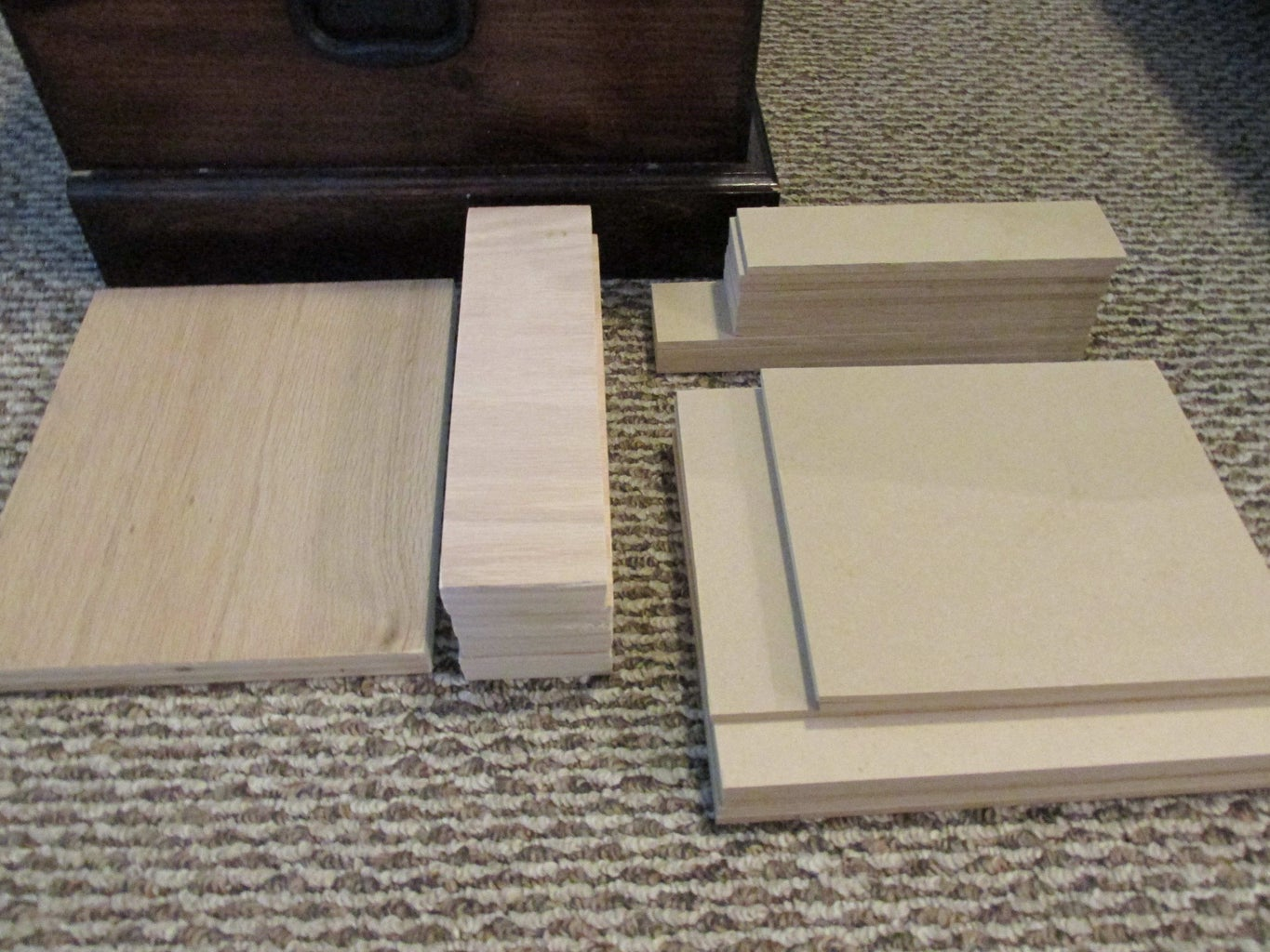 Assemble Back of Drawers