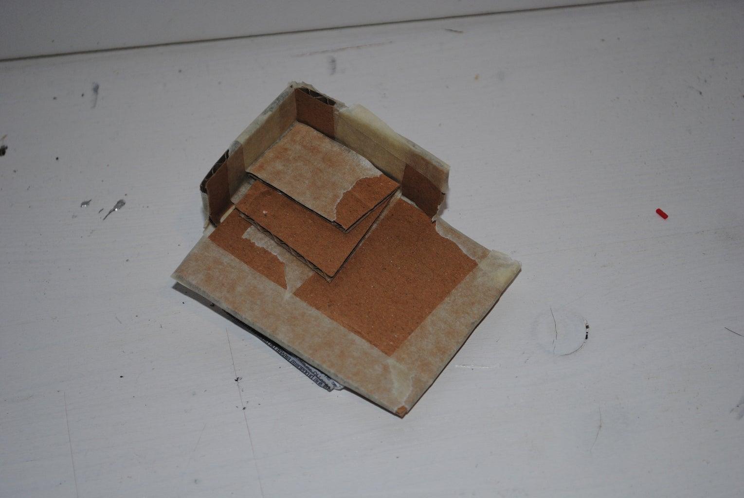 Cardboard-paper-planar-parts