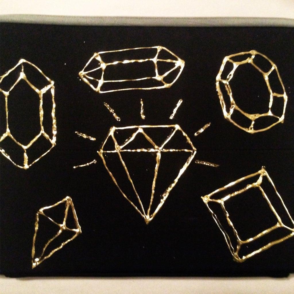 Gold Foil Transfer