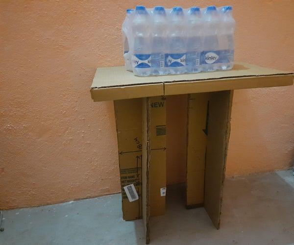 Portable Cardboard Laptop/Study Table