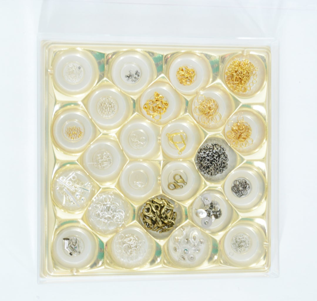 Egg Cartons, Chocolate Boxes As Jewelry or Office Supplies Organizer