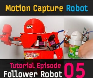 8 AXIS HUMANOID (Follower) ROBOT (HUMANOID ROBOT EP 05)