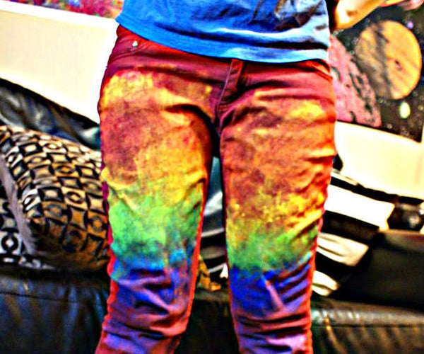 Paint on Pants? Put More!