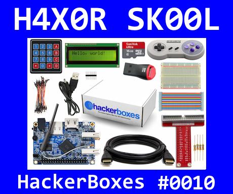 HackerBoxes 0010: Phython Pi