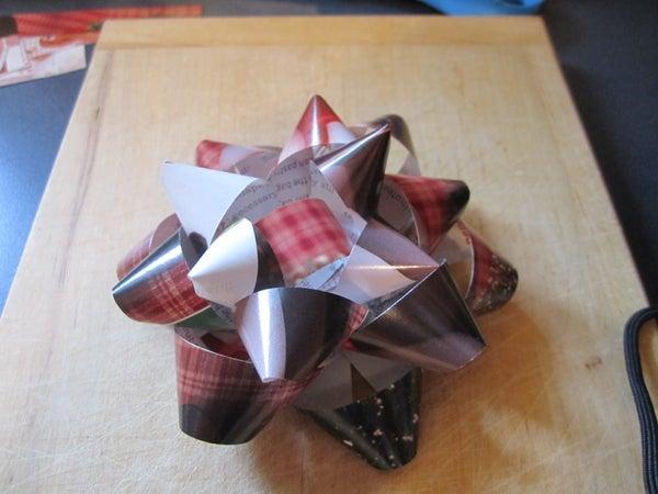 Homemade Present Bow