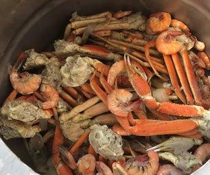 我们的家人 - 蟹海鲜沸腾