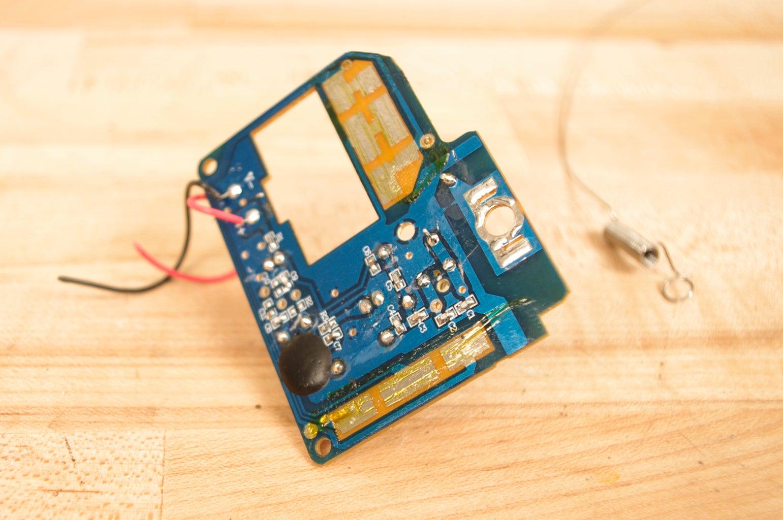 Remove the Circuit Board