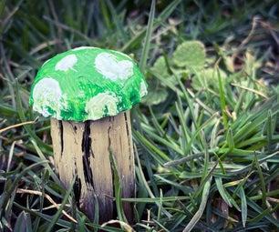 童话庭院蘑菇
