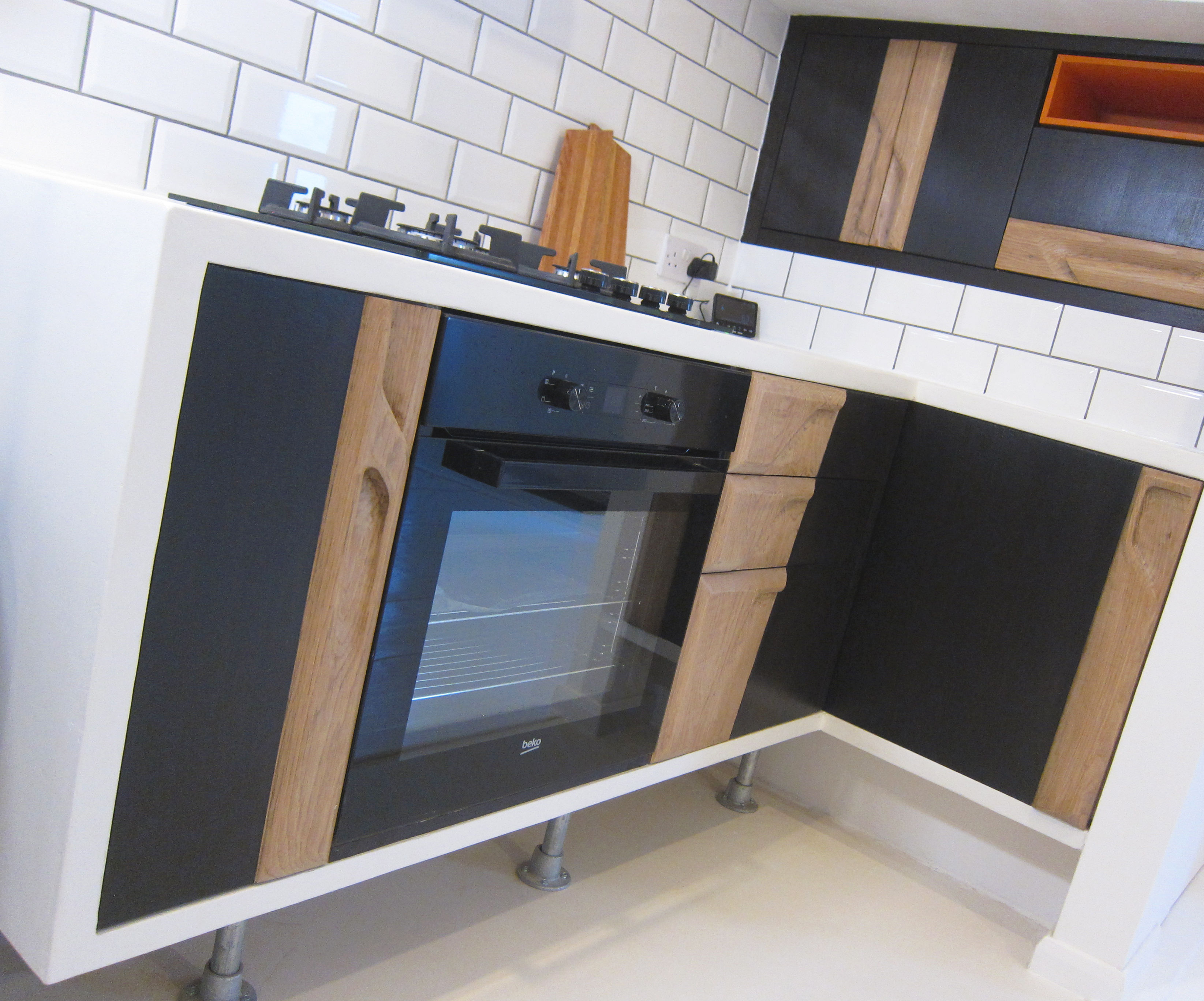Microcement Worktops for a Bespoke Kitchen