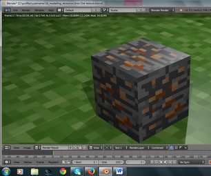 How to Model an Iron Ore Block in Blender