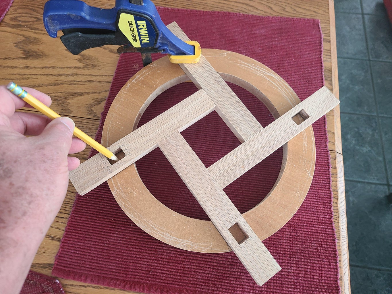 Top Piece Mortise