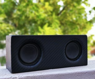 Portable Bluetooth Speaker With Built-In PowerBank