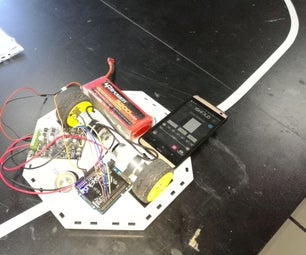 Line Follower Robot Using Camera Shield in 1Sheeld & Arduino