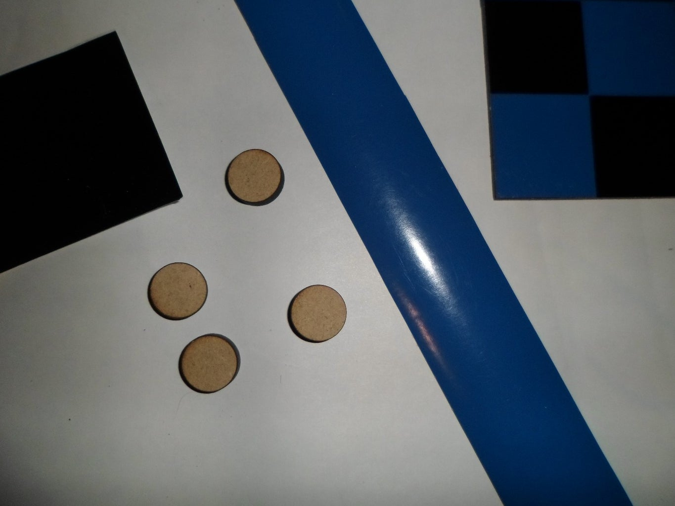 Step 6: Cut and Stick the Vinyl Paper Into the Pieces