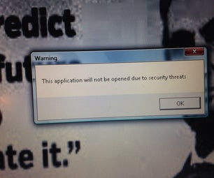 "Windows ""Security Threat"""