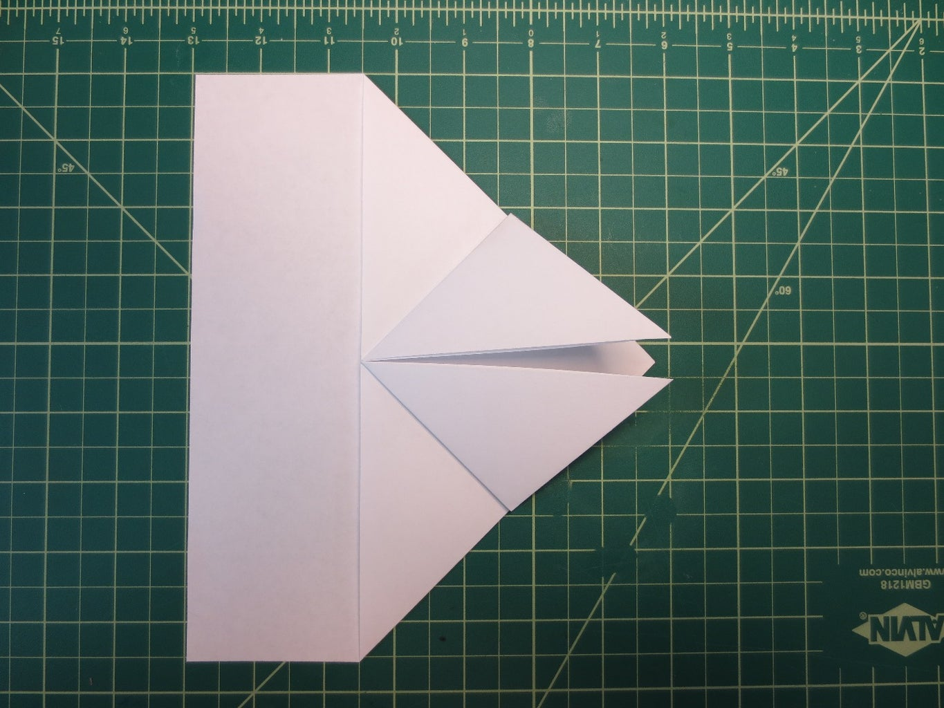 Construct the 'nose' of the Glider