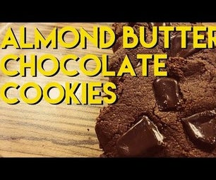 Healthy Almond Butter Cookies