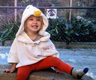Untitled Toddler Game! Horrible Goose Costume for Kids