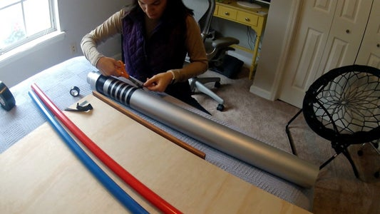Spray Paint PVC & Design Handles