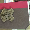 Book W/ Hogwarts Coat of Arms and Corner Protectors