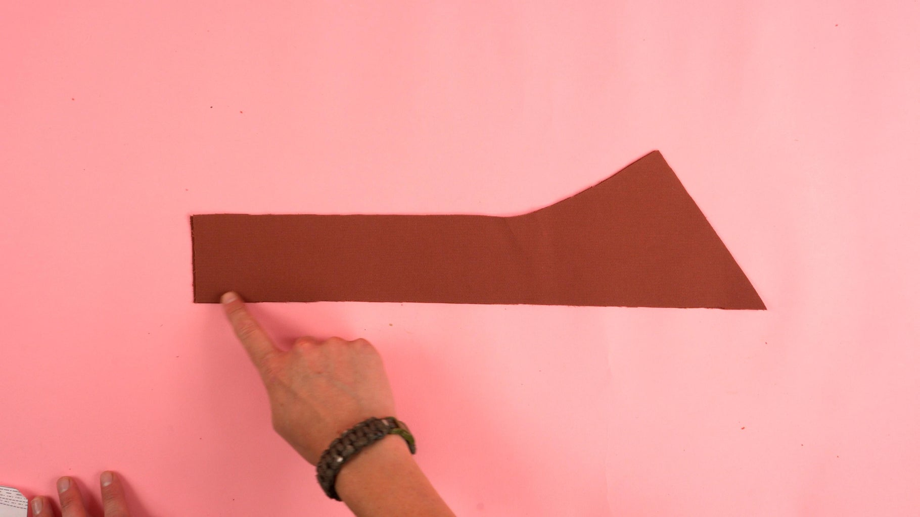 Sewing Strap Panel