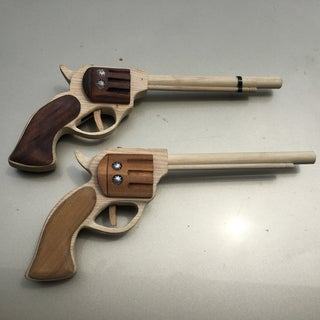 Pallet Rubber Band Gun