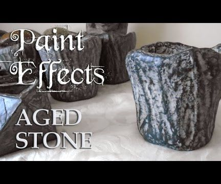 Paint Effects | Aged Stone