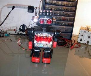 Retro 80's Master Blaster Robot