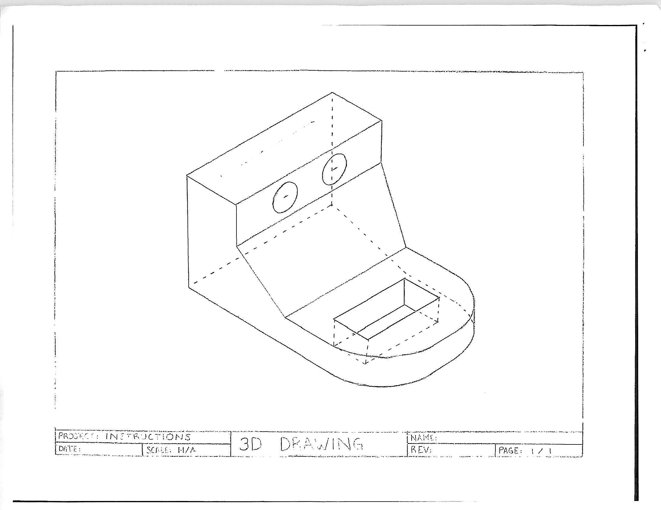 Technical Drawing in Three Dimensions