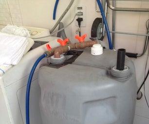 Geraaaaaaldo • Galão Para Reaproveitar Água Da Máquina De Lavar
