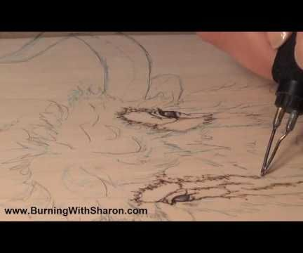 Pyrography: How To Begin Woodburning a Yak or Bison