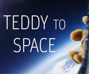 Send a Teddy Bear to Space! (High-Altitude Balloon)