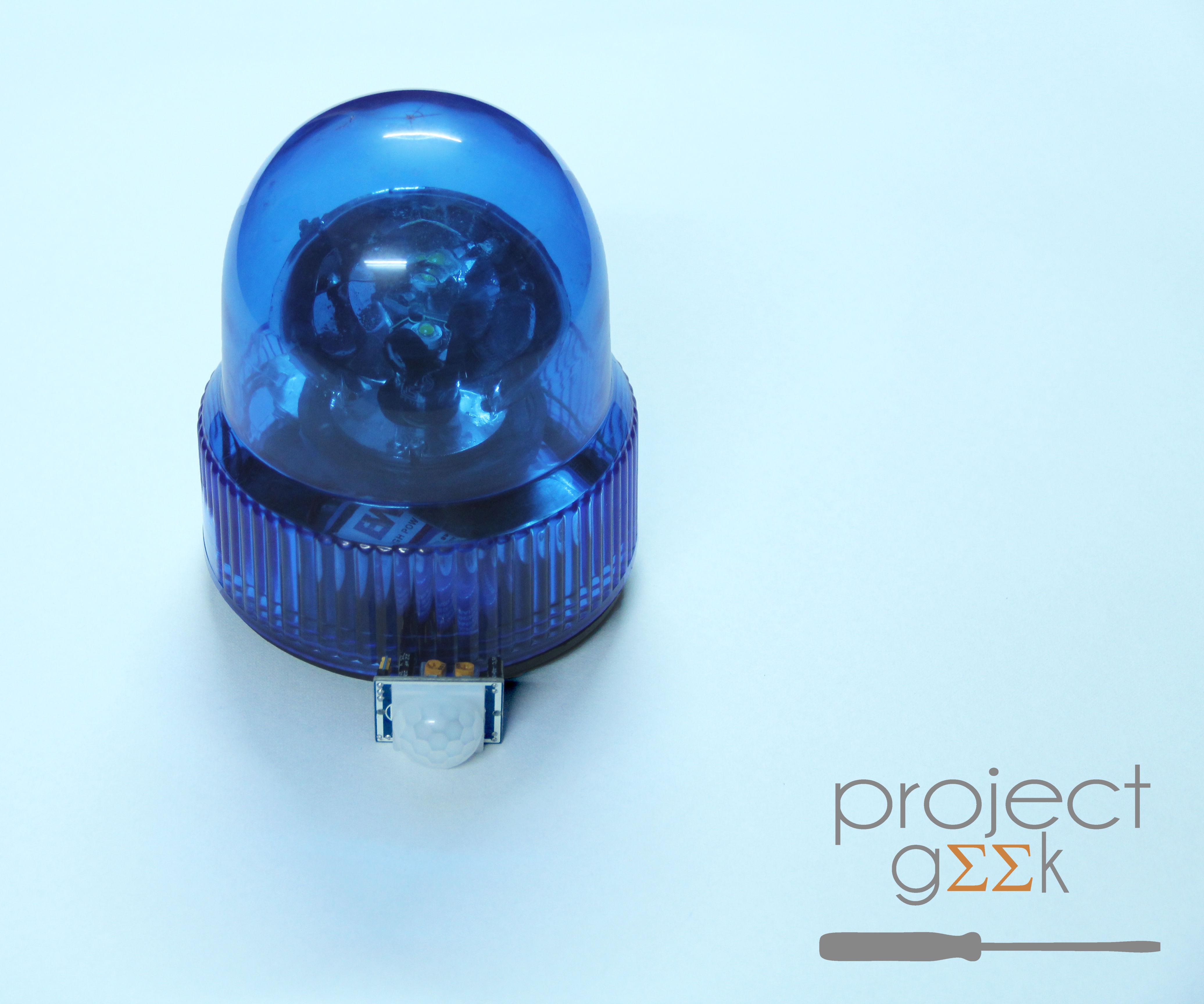 Automatic Beacon Night Light - Project Geek #3