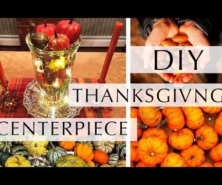 DIY: Thanksgiving Centerpiece