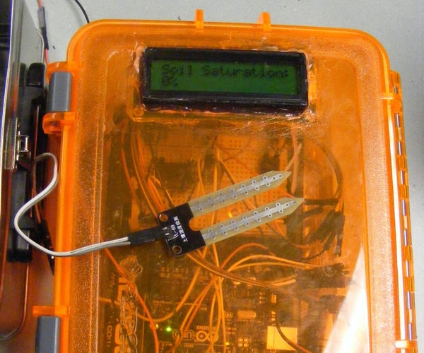 Automatic Garden Watering Device - Arduino