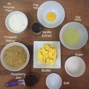 Prepare Ingredients to Make the Cookies.